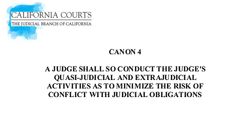 A Canon A Day for Judges Astray-Day 4