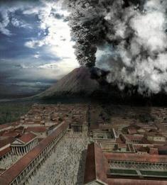 Living under a volcano is dangerous.