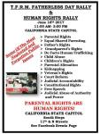 Anuual Fatherless Day Rally June 16th